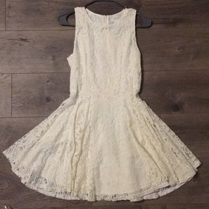 Ivory-Colored Lace H&M Dress